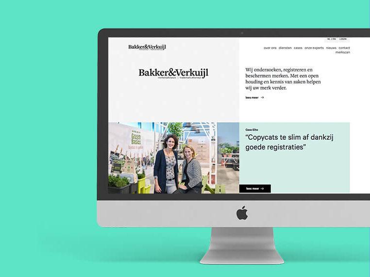 Realisatie website bakker en verkuijl