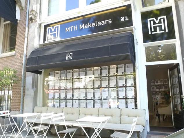Huisstijl van MTH Makelaars